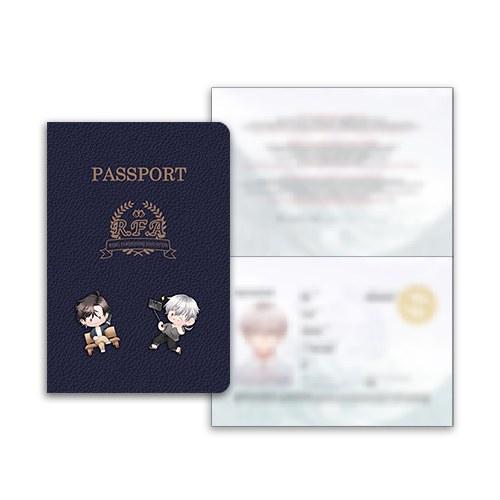 Set de pasaporte de Saeran